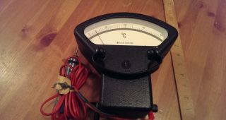 Rare Foster Cambridge Pyrometer,  Measuring Meters,  Thermometers,  Vintage Measuring photo