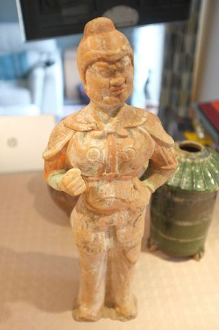 Ancient Chinese Tang Dynasty Groom/guardian Figure photo