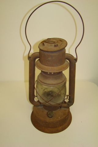 Antique Lantern Embury Supreme,  No 162 Kerosene/oil Lamp Warsaw Ny photo