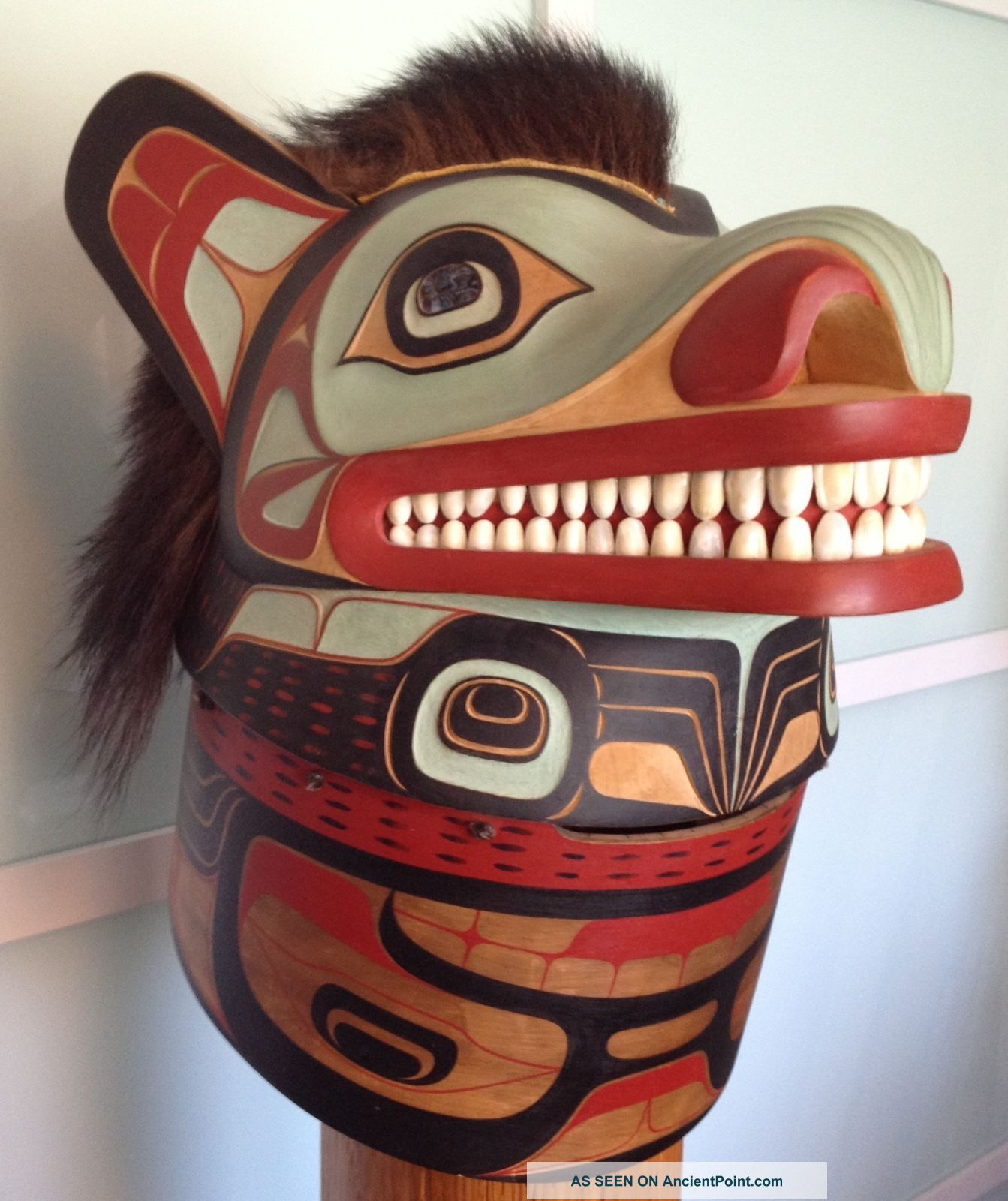 Northwest Indian Bear Mask By Duane Pasco Native American photo