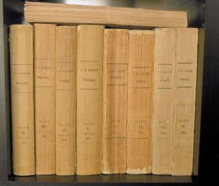 Carl Friedrich Gauss - 9 Volume Set - Werke / Works Gottingen,  Germany 1870 - 1906 photo