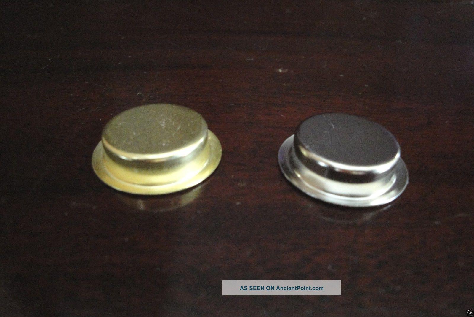 Hoosier Cabinet Finger Pull Nickel Plated for Tambour Door