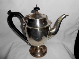Vintage Made In England Silverplate Epns Pedestal Tea/ Coffee Pot photo
