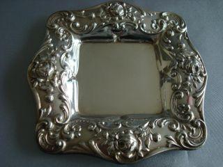Gorham Sterling Silver 1 Art Nouveau Repousse Bon Mint Trinket Dish 6 Avail photo