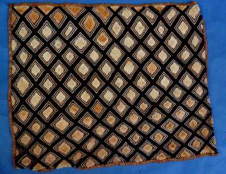 Kuba Velvet Kasaai Highpremium Textile Shoowa Raffia Cloth Zaire Ethnix photo