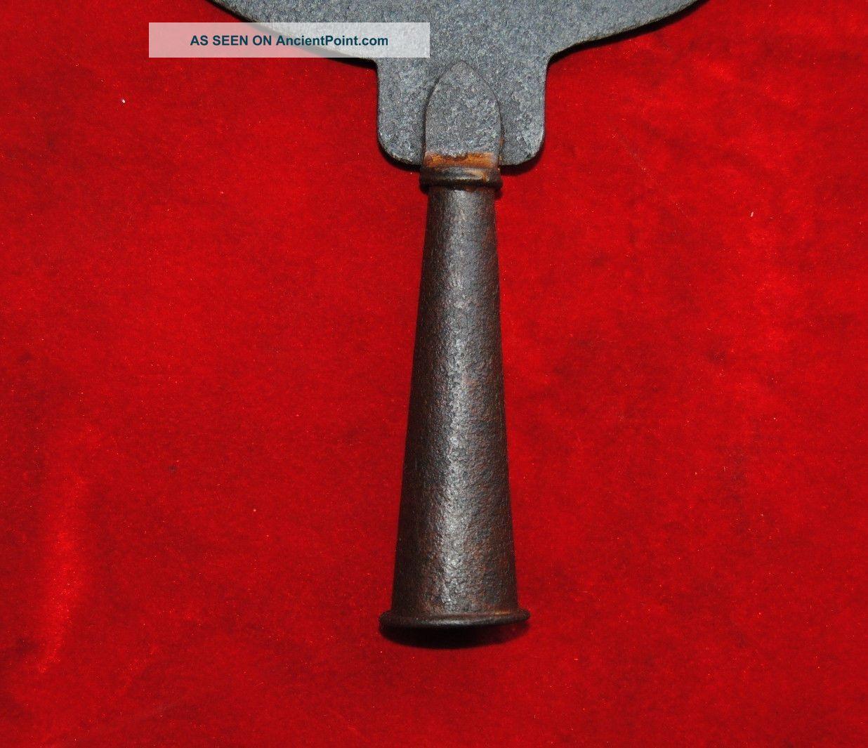 Antique Islamic Ottoman Turkish Iron Alam Standard Insignia Finial ...