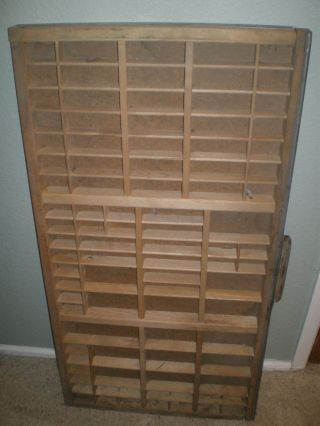 Old Antique Type Drawer By Hamilton photo
