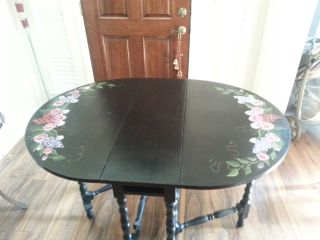 Vintage Fold Out Table photo