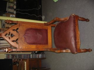 Church Throne Antique photo