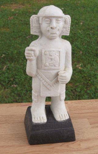Antique African Statue Carving Mali Bambara Bamana Banmana Tribe Marble Rabbit photo