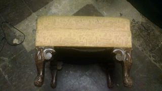 Vintage Foot Stool photo