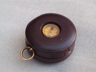 Antique Barometer/ Compass photo