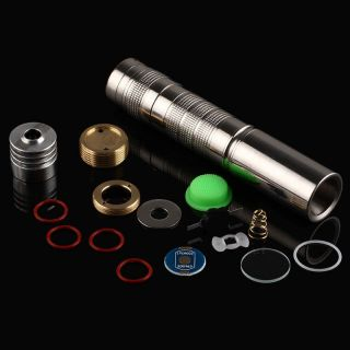 Convoy S7 Stainless Steel Flashlight Host,  Include Op Reflector,  Pill,  Head O Ring photo