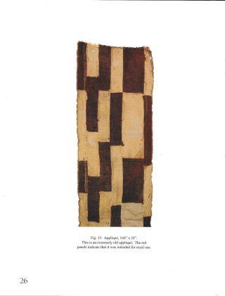 Published Kuba Textile Rare 19th C.  Royal Man ' S Ceremonial Mapel 168