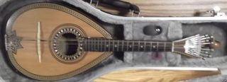 Antique Custodio Cardoso Pereira C Sa Portuguese Mandolin (restoration Required) photo