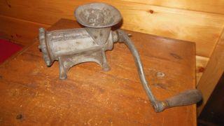 Vintage Cast Iron Meat Grinder photo