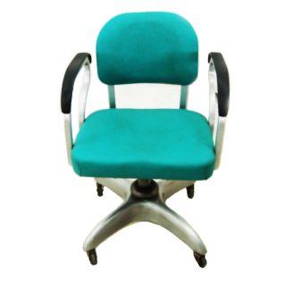 Mid Century Cast Aluminum Swivel/secretary Chair 5139 photo