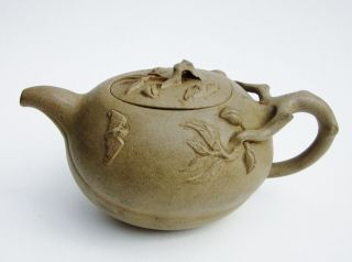 Antique Vintage Clay Tea Paot (artist Zhang Helin 张鹤林) photo