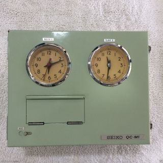 Seiko Quartz Crycstal Master Clock Model: Qc - M1 - 2 photo