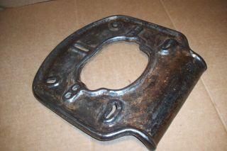 Antique,  1911,  Cast Iron Sink Pitcher Pump Spill Base,  Rare,  Hard To Find photo