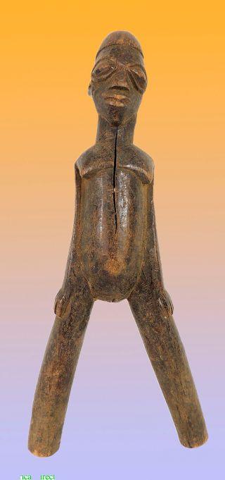 Lobi Figural Slingshot Female Figure Burkina Faso African - 3 photo