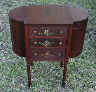 Antique Vintage Martha Washington Sewing Cabinet Local Pick - Up Only photo