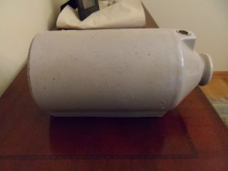 Antique Stoneware Crock Foot Bed Warmer Pig Type Late 1800s photo