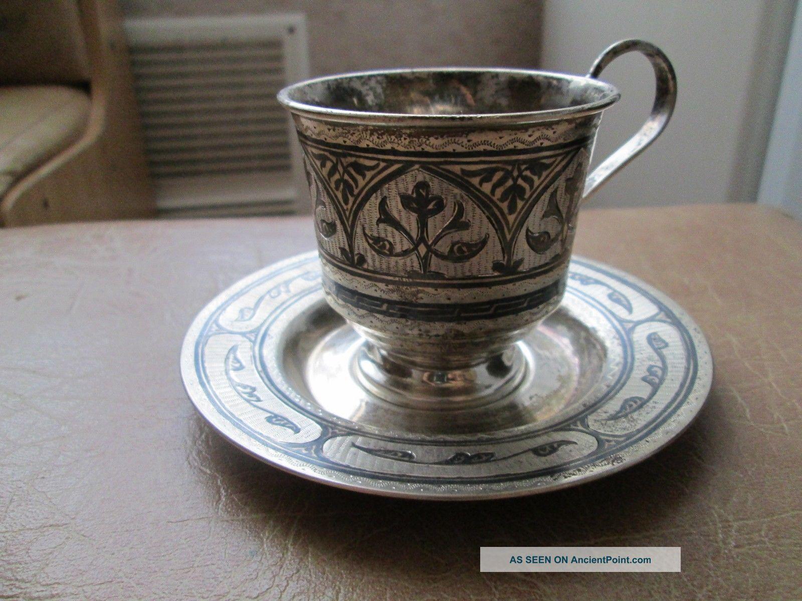 Fantastically Coffee Set Kubacha Silver. Russia photo