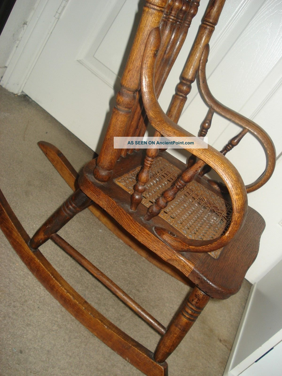 Antique Child S Oak Rocking Chair Chairs amp Seating