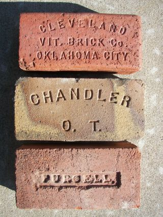 3. . .  Vintage. . .  Oklahoma Bricks. . .  Oklahoma City. .  Chandler. .  &. .  Purcell,  Oklahoma photo