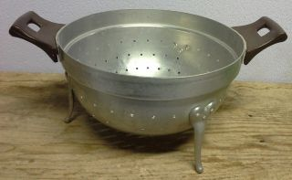 Old Aluminum Colander Made ​​in Italy photo