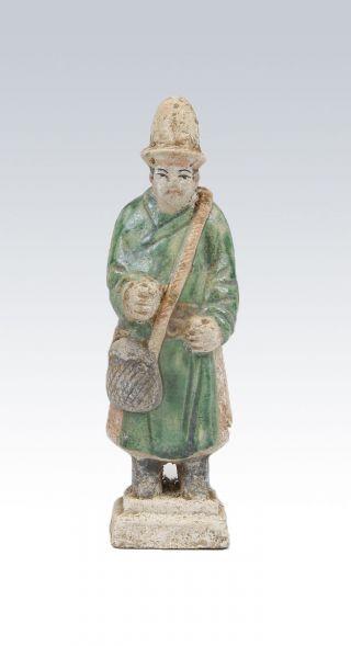 Ming Glazed Processional Figure photo
