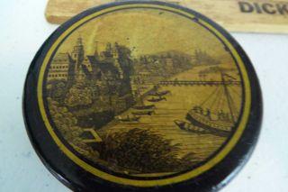 Antique Port Ship Snuff Box Coastal Europe Or The Americas photo