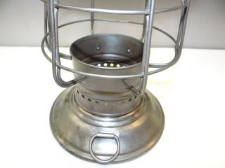 Vintage Metal Keystoneware Oil Kerosene Nautical Ship Lantern Lamp Cage Body photo