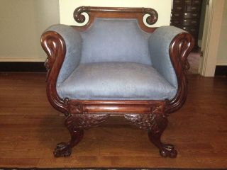 Empire Gooseneck Arm Chair photo