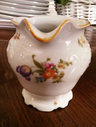 Porcelain Creamer K P M Germany Marked C252 photo