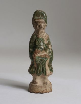 Antique - Ancient Chinese Pottery Tomb Attendant Sculpture - Statue/tang,  Song,  Ming photo