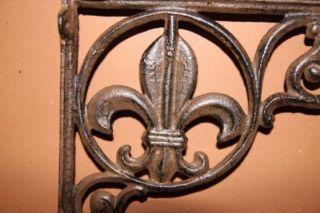 (8),  New Orleans Decor,  Shelf Brackets,  Cast Iron,  Corbels,  Shelf Brackets,  Iron,  B - 3 photo