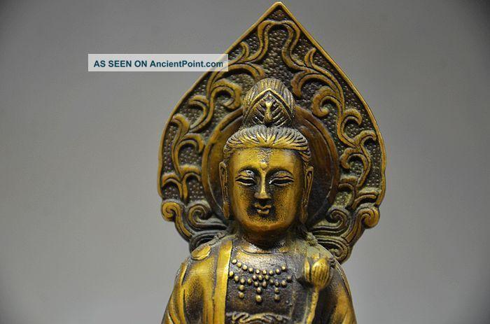 Ingenious Chinese Copper Handwork Statues - Buddha Buddha photo