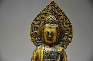 Ingenious Chinese Copper Handwork Statues - Buddha photo