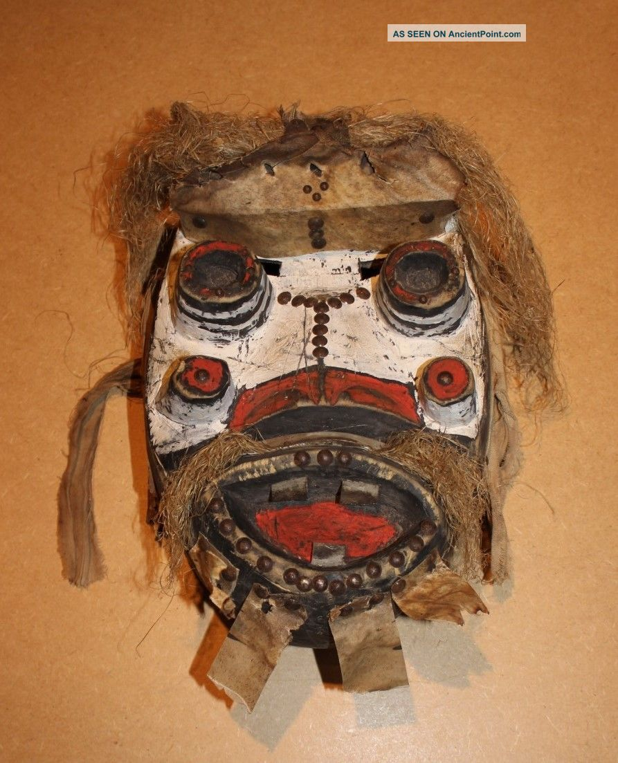 Ivory Coast Old African Mask Ancien Masque Dan Ngere Masker Afrika D ' Afrique Other photo