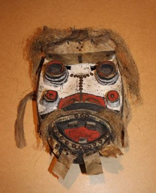 Ivory Coast Old African Mask Ancien Masque Dan Ngere Masker Afrika D ' Afrique photo