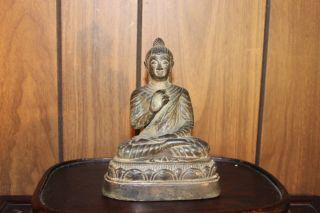 Vintage Asian Bronze Buddha photo
