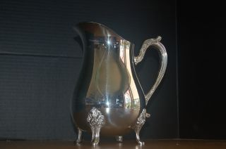 Newport Gorham Silverplate Electroplate Pitcher 8.  5