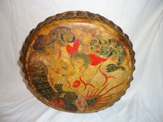 Vintage Tribal Drum Nwt Or Asiamatic Unknown - Gorgeous Handmade Drum photo