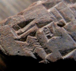 C2080 Bc Ancient Manuscript Clay Tablet Mesopotamia Cuneiform Paleography Sumer photo