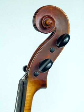 Antique Old Violin,  Fine Viennese Violin Probably By Wilhelm Thomas Jaura,  1899 photo