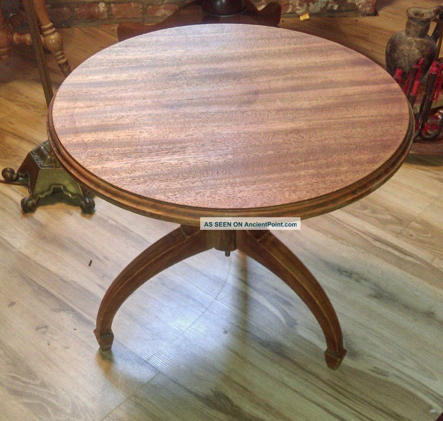 Vintage table side end table corner coffee antique wood victorian