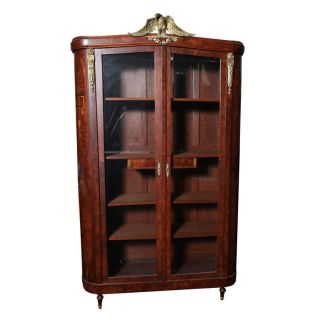 French - Empire 1st.  Quarter - Massive Armoire/display photo