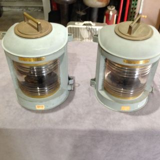 Vintage Perko Marine Navigational Stern Lights,  Nos,  Mod: 1152 - E02 photo